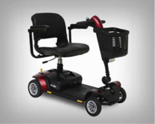 Scooters: We supply mobility scooters and a full selection of mobility scooter accessories to individuals.