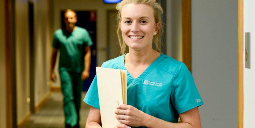 nurse on unit