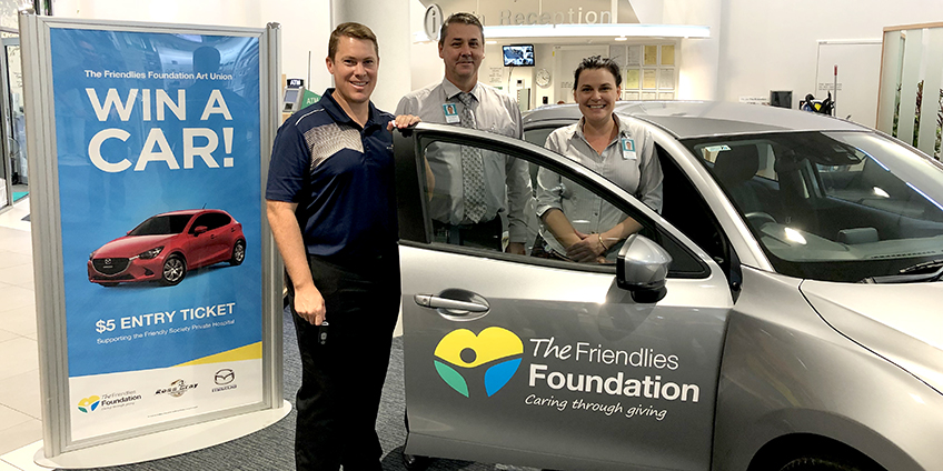 Win a car for just $5 with The Friendlies Foundation
