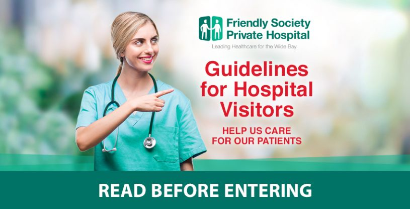 Guidelines for visitors
