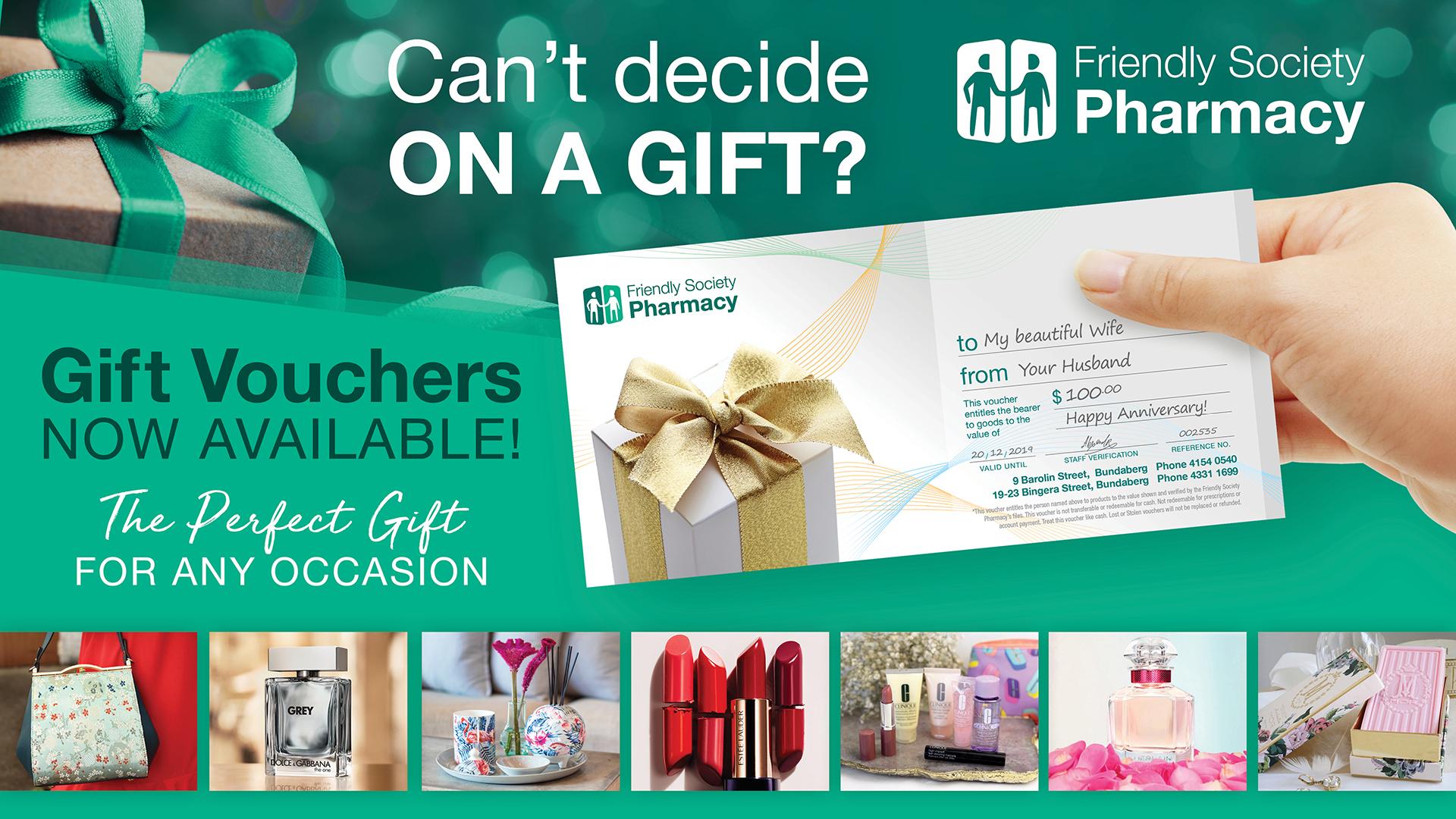Pharmacy Gift Voucher