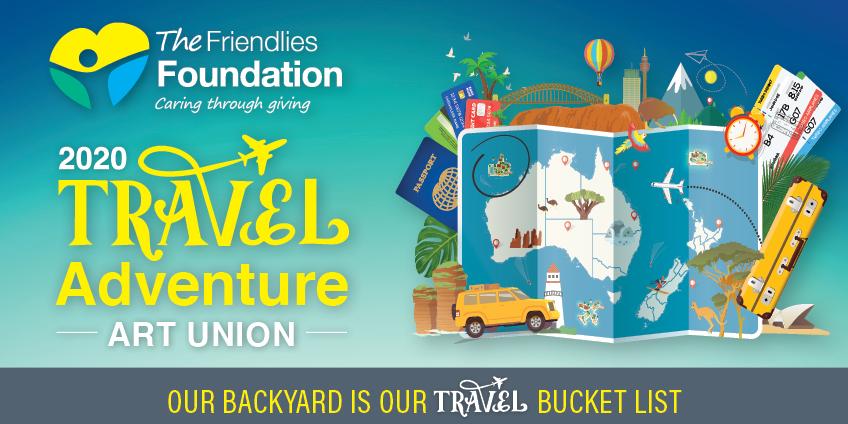 Friendlies Foundation 2020 Art Union Web Image