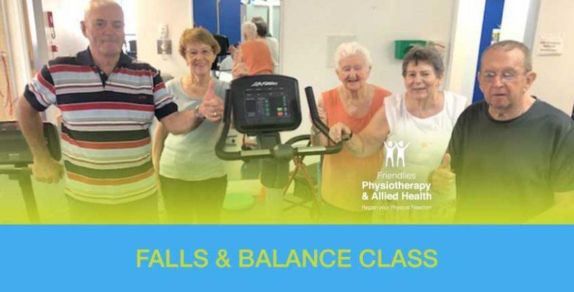 Falls and Balance Class